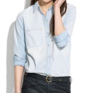 Madewell Perfect Chambray Ex-Boyfriend Shirt
